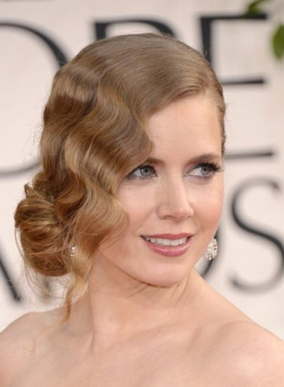 Amy Adams Deep Side Part